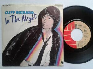 """Cliff Richard / In The Night 7"""" Vinyl Single 1980 mit Schutzhülle"""