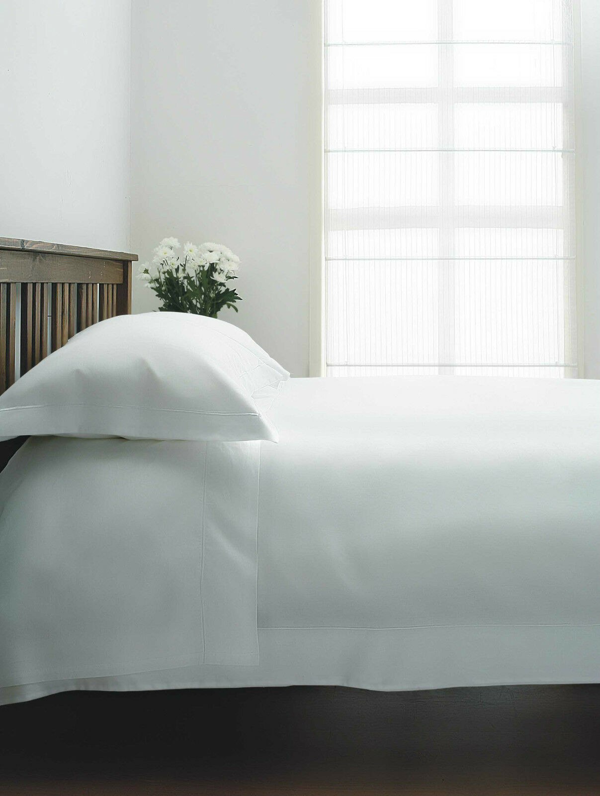 1000tc Single Ply Egyptian Cotton Deep Fitted sheet in Ivory Superking Bed