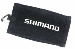 Shimano AC-060P Clip on Fishing Hand Towel Shimano 60 x 15 cm Black 451927