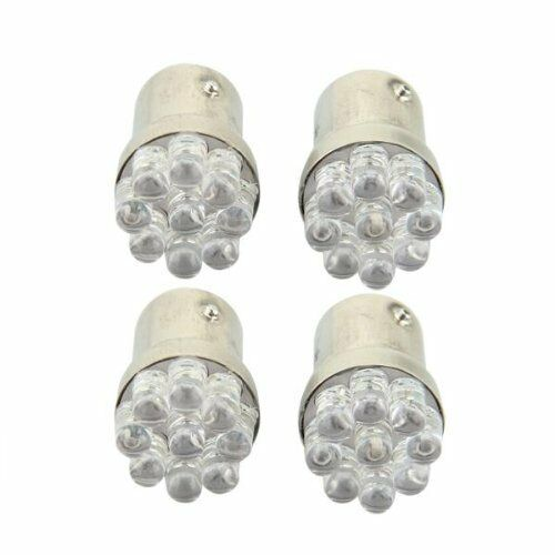 4 x 1157 BA15S 9 LED Car Park Light Brake Light Flasher Taillight red 12V L7L2