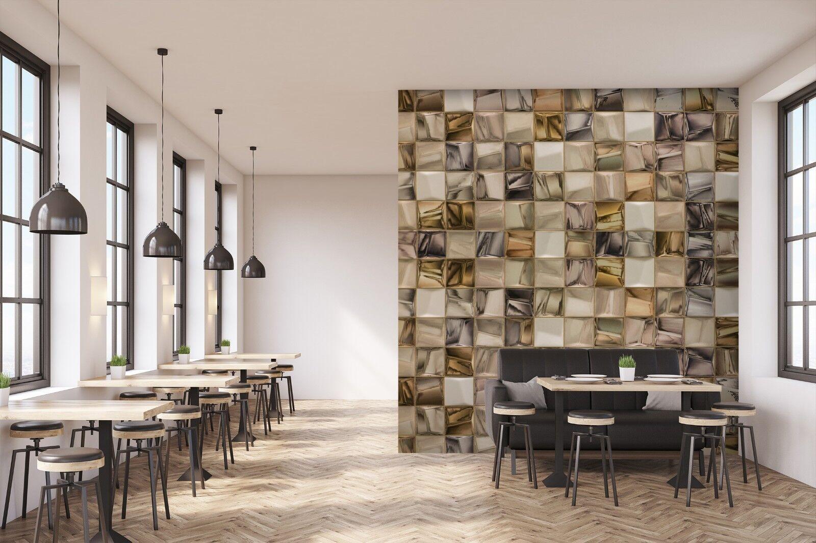 3D Bump Spiegel Stein 3 Textur Fliesen Marmor Tapeten Abziehbild Tapete Wandbild