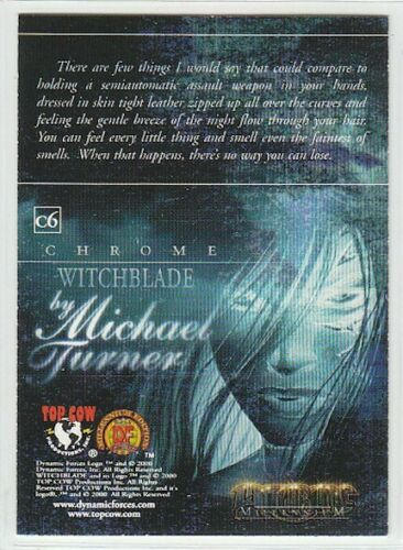 Glow In The Dark Witchblade Millenium Single Chase Card Selection Chrome