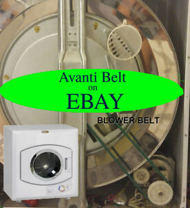 Avanti D110 Dryer fan belt. FREE SHIPPING! Replacement for GREEN belt. New.   58b65f513fae