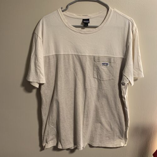 Patagonia Organic Cotton Colorblock Large Pocket T