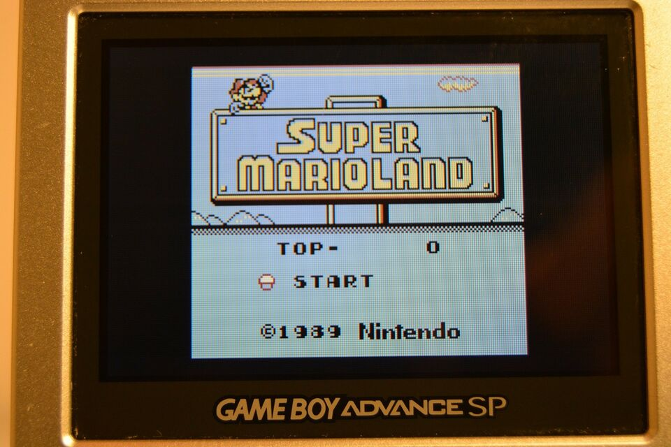Super Mario Land, Gameboy