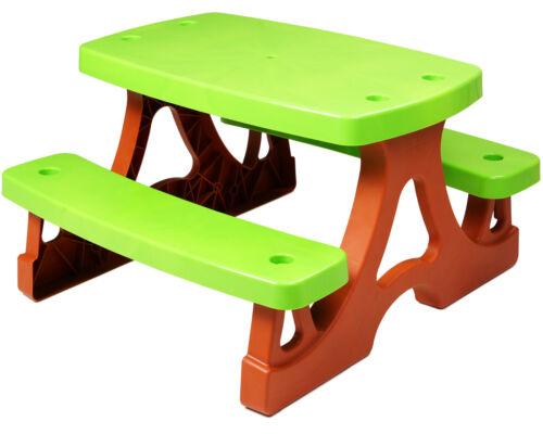 Ondis24 Picknicktisch Spieltisch Picknicktisch für Kinder mit Schirmhalterung