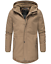 Weeds-senores-chaqueta-invierno-larga-chaqueta-Parka-abrigo-forro-calido-manakaa miniatura 8