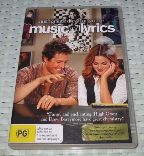 1 of 1 - Music & Lyrics - DVD, 2007 - REGION 4 - R4 - ede