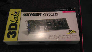 3D LABS OXYGEN GVX210 DESCARGAR DRIVER