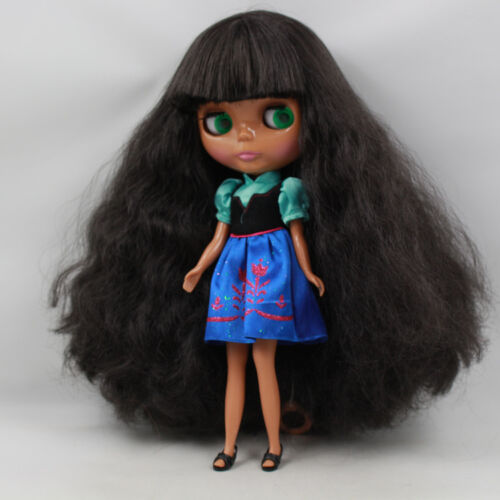 "Takara 12/"" Neo Blythe  Dark Skin Nude Doll from Factory TbY239"