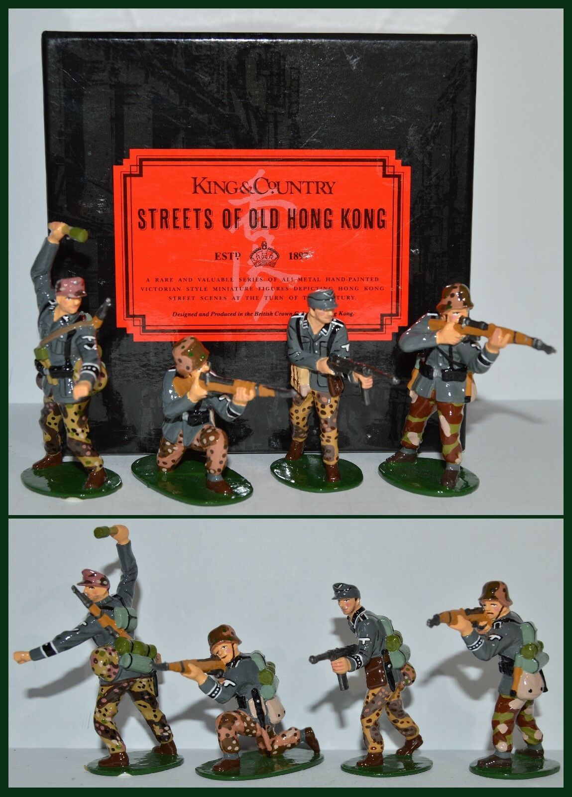 King & Country Glossy WW II  WS02G Assault Group QR-501 S-6