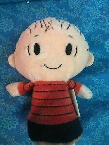 Peanuts-LINUS-5-034-Itty-Bittys-Plush-Stuffed-Toy-by-Hallmark
