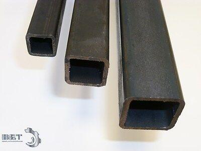Hohlprofil 25x25x2  mm Quadratrohr Vierkantrohr Stahlrohr Eisen Länge wählbar