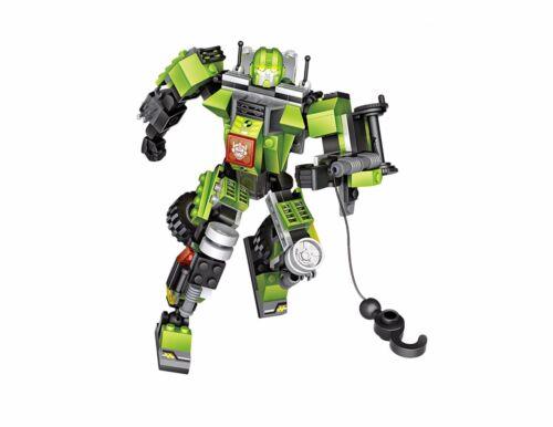 LOZ Mini Blocks Transformation Truck Crane Car Toys For Boys Robot 212pcs