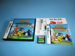 Pokemon-Mystery-Dungeon-Explorers-of-Sky-Nintendo-DS-Lite-w-Case-Manual-Inserts