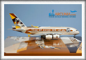 """Phoenix 1:400 Etihad Airways Airbus a380 """"Year of Zayed - A6-APH"""""""
