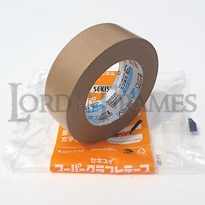 Sekisui 38mm x 50m 504NS Smooth Frame Backing Tape Kraft Paper Framing