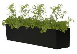 Blumenkasten für Fensterbank aus Fiberglas Pflanztopf Blumentopf ...