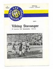 1982/83 UEFA Cup - 1.FC LOKOMOTIVE LEIPZIG v. VIKING STAVANGER