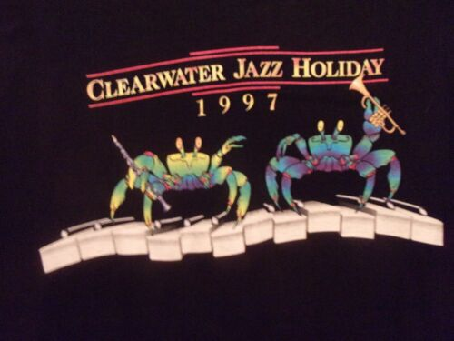 Clearwater FL Clearwater Jazz Holiday 1997 black L