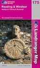 Reading and Windsor, Henley-on-Thames and Bracknell by Ordnance Survey (Sheet map, folded, 2006)