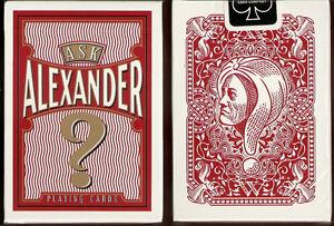 Kết quả hình ảnh cho ALEXANDER PLAYING CARDS