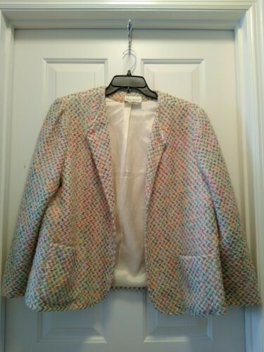 Lady Devon Women's Open Front Blazer Jacket Size 3