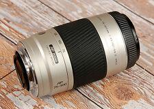 SONY Alpha Digital fit Minolta AF 75 - 300mm D Silver Telephoto zoom FREE Filter