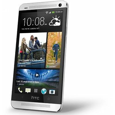 Brand New HTC One M7 - 32GB 4G GPS WIFI Unlocked 4.7'' Android Smartphone SILVER