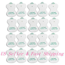 20x Electrode Pads For Tens Acupuncture Digital Therapy Massager replacement