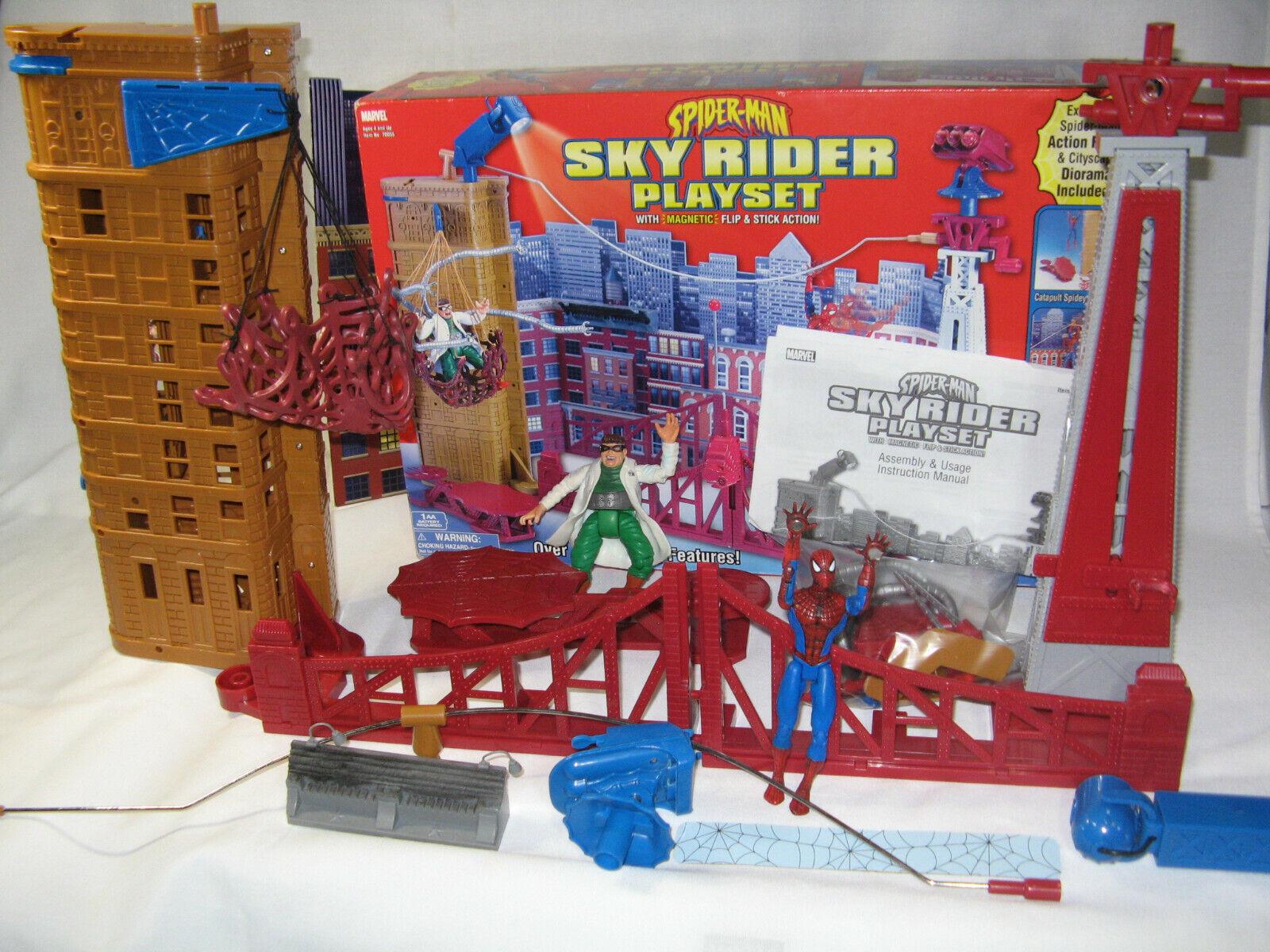 Spider-Man Sky Rider Play set.