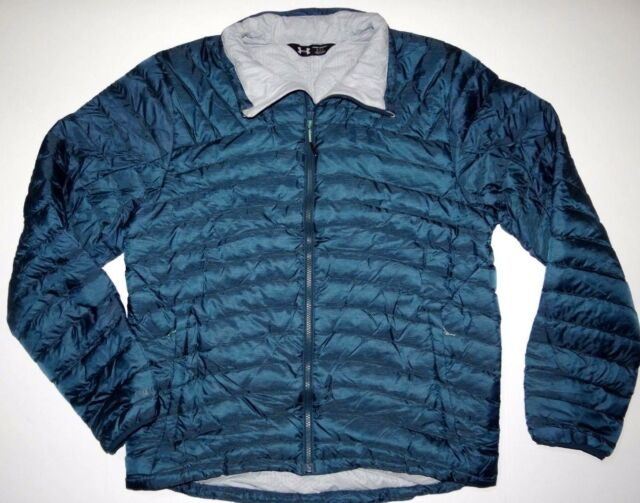 ee96916f6 New Under Armour Mens ColdGear Four Pines Down Fill Ski Snowboard Jacket  Large