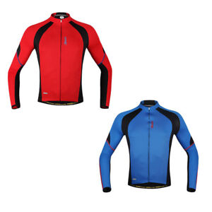 Santic Men s Cycling Jacket Bike Bicycle Riding Jerseys Long Sleeve ... 4721685fc