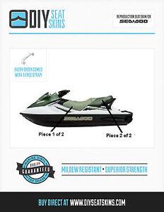 gts gtx ltd 4 tec di rxt wake sea doo green seat skin cover 2002 rh ebay com 2002 Sea-Doo GTX RFI Specs 2002 seadoo gtx di shop manual