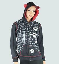 skelanimals hoodie long sleeve cat ear hood XL pre owned