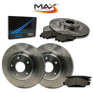 Front-Rear-Rotors-w-Metallic-Pad-OE-Brake-Kit