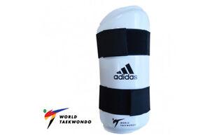 Adidas-WT-Taekwondo-Forearm-Protectors-Arm-Guards-WTF-TKD-Arm-Sparring-Pads-XS-L