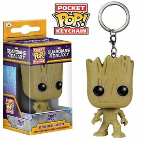 Officiel-Marvel-Guardians-of-the-Galaxy-Groot-Pocket-POP-Vinyl-porte-cles-Nouveau