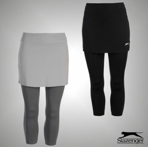 Ladies Branded Slazenger Sports 2 Pieces Stretchy Tennis Court Skapri