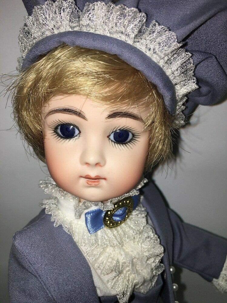 Beautiful French 10  Jumeau  lungo Face Repro by Bev Marronee, blu Eyes, tutti Bisque  prezzi bassissimi