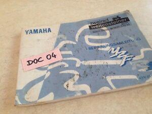 Manuell-Eigentuemer-Yamaha-YZF-1000-R1-deutsche-des-Besitzers-Handbuch-Hg-97
