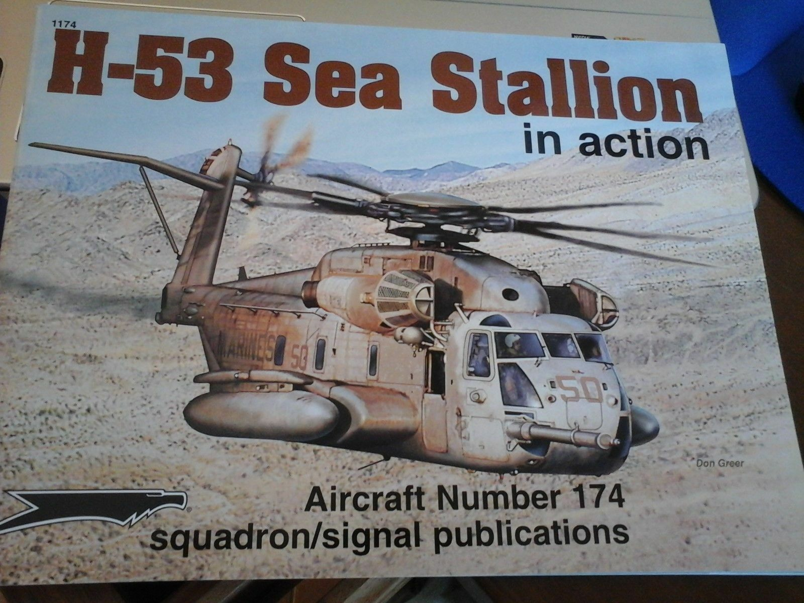 SQUADRON SIGNAL IN ACTION  N.174 H-53 SEA STALLION