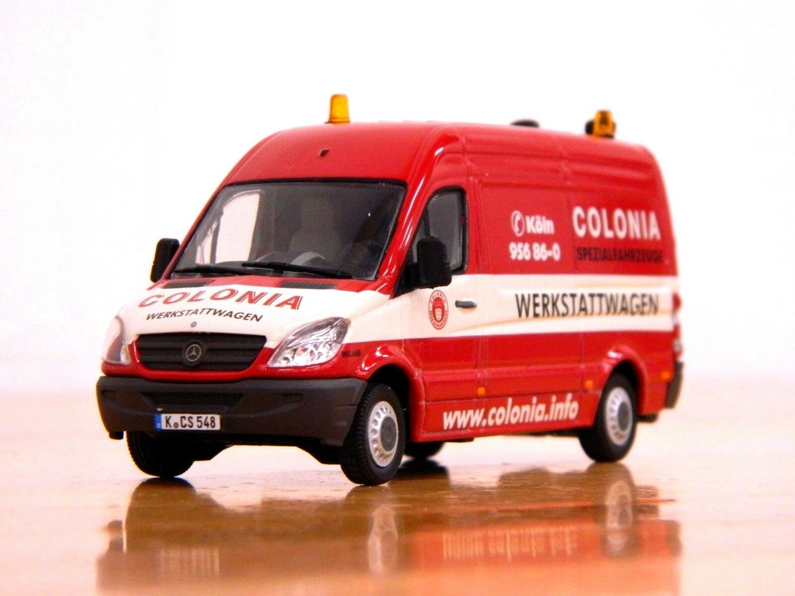 Wsi 02-1783  colonia  mercedes - benz - sprinter van 1  50 bf3 mb
