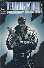Fine The Terminator: Secondary Objectives No 1 of 4 July 1991 Dark Horse Hemdale