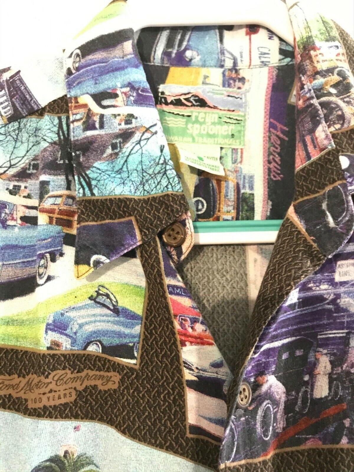 Aloha Shirt Reyn Spooner 100% Spun Rayon - image 5