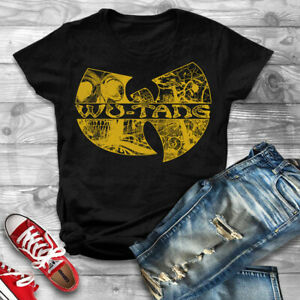 WU-TANG-CLAN-T-shirt-Gza-Rza-ODB-Hip-Hop-Rap-Distressed-Unisex-Shirt