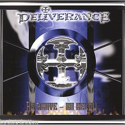 DELIVERANCE - AS ABOVE~SO BELOW (*NEW-2007, CD) Christian Thrash Metal