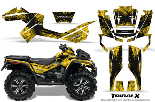 CAN-AM OUTLANDER XMR 500 650 800R GRAPHICS KIT CREATORX DECALS STICKERS TXBY