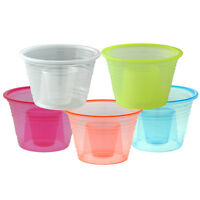 1000 Plastic Power Party Jager Bomber Shot Cup Glass Shooters Color Bomb Cups