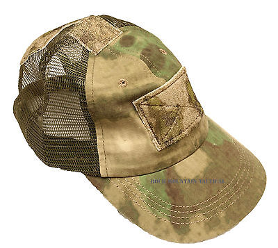 HSGI High Speed Gear Inc Cap MESH Hat with  A-TACS FOLIAGE -NEW MESH